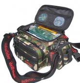 Stakan 100 лайтовик Камуфляж шейно-поясная сумка + держатель удилища