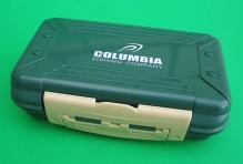 Коробка COLUMBIA H535 для крючков автомат 2-сторонняя (8+8 отделений) (160х100х50 мм)