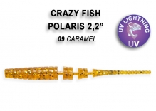 Crazy Fish POLARIS кальмар 4.5см 8шт 5-4.5-9-6