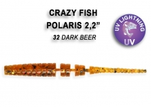 Crazy Fish POLARIS кальмар 4.5см 8шт 5-4.5-32-6