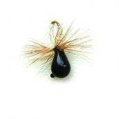 Мормышка вольфрамовая Lucky John нимфа-муха с петел. 040/36 блистер