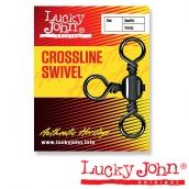 Вертлюги трехсторонние Lucky John CROSLINE 004 7шт.