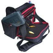 """Самобранец 2.1 Черный Наплечная сумка со """"столом"""" для ходовой рыбалки"""