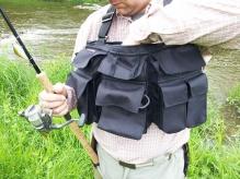 Сумка нагрудная для забродной рыбалки и нахлыста