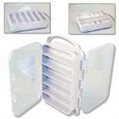 Коробка Aquatech 2х-сторонняя 15 ячеек (185 x 135 x 50 мм)