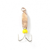 Мормышка вольфрамовая Lucky John чертик треуг. с петел. 038/C