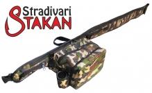 Stakan Stradivari Камуфляж чехол для удилища - поясная сумка